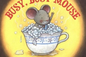 Busy, Busy Mouse by Virginia Kroll, illustrated by Fumi Kosaka [in AsianWeek]