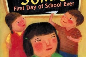 Sumi's First Day of School Ever by Soyung Pak, illustrated by Joung Un Kim [in AsianWeek]