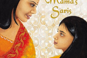 Mama's Saris by Pooja Makhijani, illustrated by Elena Gomez [in Bloomsbury Review]