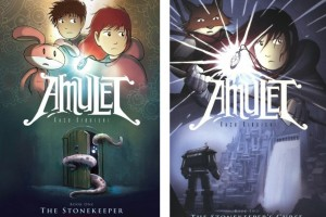 Amulet | Book One: The Stonekeeper and Book Two: The Stonekeeper's Curse by Kazu Kibuishi