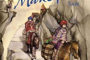 Animals Marco Polo Saw: An Adventure on the Silk Road by Sandra Markle, illustrated by Daniela Jaglenka Terrazzini