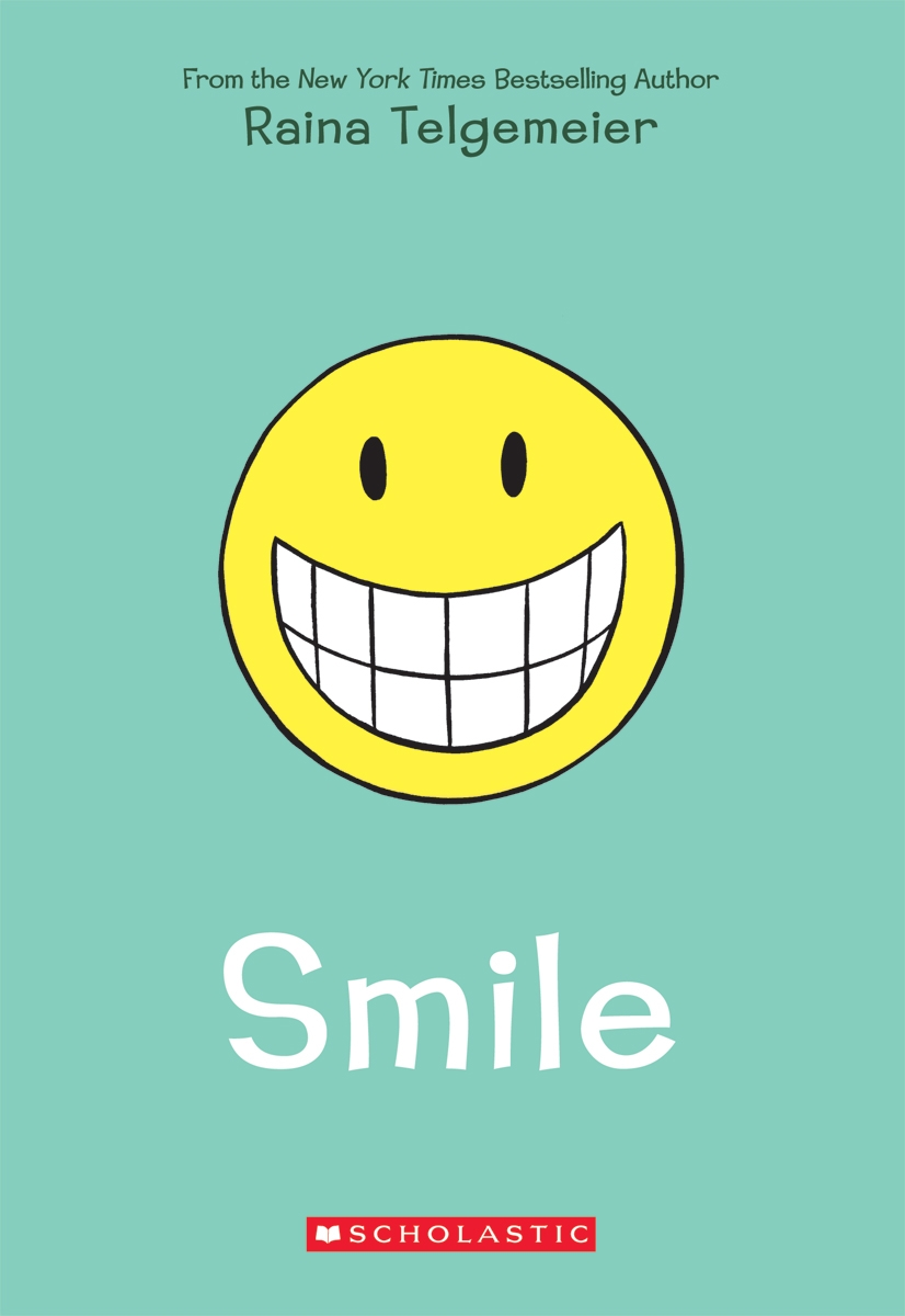 Smile by Raina Telgemeier, with color by Stephanie Yue | BookDragon
