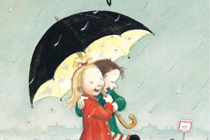 My Happy Life by Rose Lagercrantz, illustrated by Eva Eriksson, translated by Julia Marshall