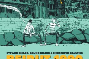 Beirut 1990: Snapshots of a Civil War by Sylvain Ricard, Bruno Ricard, illustrated by Christophe Gaultier, translated by Anna Provitola, edited by Alex Donoghue
