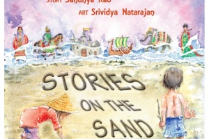 Stories on the Sand by Sandhya Rao, illustrated by Srividya Natarajan