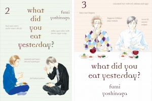 what did you eat yesterday? (vols. 2-3) by Fumi Yoshinaga, translated by Maya Rosewood