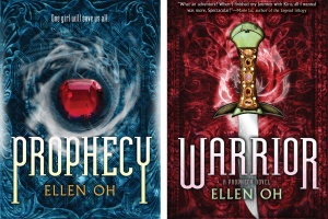 Prophecy and Warrior by Ellen Oh + Author Profile [in Bloom]