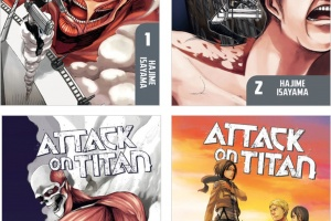 Attack on Titan (vols. 1-4) by Hajime Isayama, translated by Sheldon Drzka