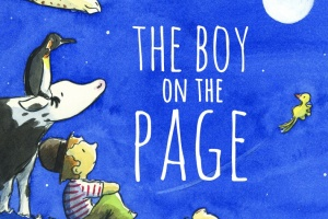 The Boy on the Page by Peter Carnavas