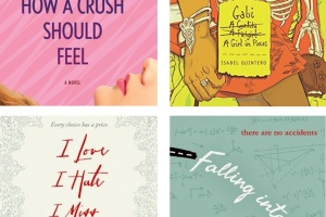 Girls on the Edge: Tell Me Again How a Crush Should Feel by Sara Farizan, Gabi: A Girl in Pieces by Isabel Quintero, I Love I Hate I Miss My Sister by Amélie Sarn, and Falling into Place by Amy Zhang [in American Book Review]