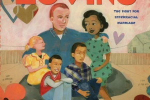 The Case for Loving: The Fight for Interracial Marriage by Selina Alko, illustrated by Sean Qualls and Selina Alko