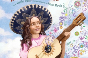 Finding the Music | En pos de la música by Jennifer Torres, illustrated by Renato Alarcão