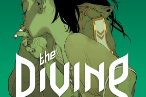 The Divine by Boaz Lavie, illustrated by Asaf Hanuka and Tomer Hanuka