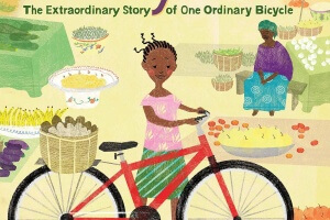 The Red Bicycle: The Extraordinary Story of One Ordinary Bicycle by Jude Isabella, illustrated by Simone Shin