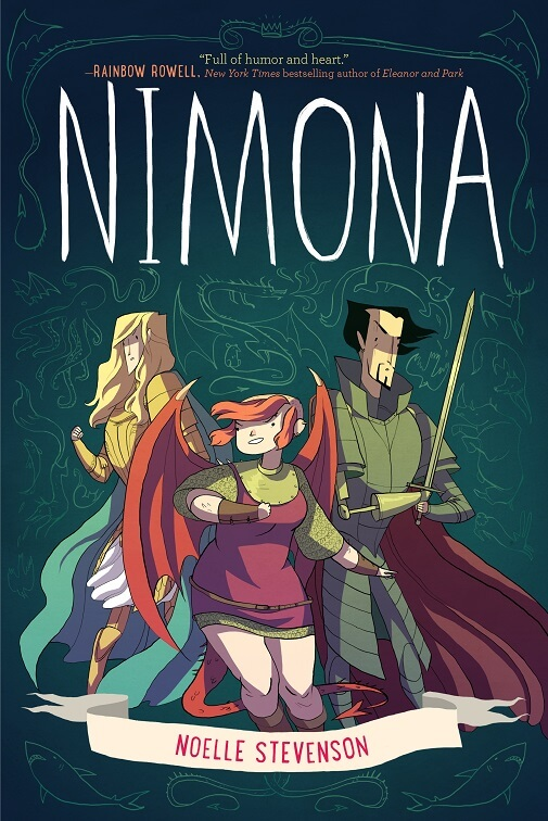 Nimona by Noelle Stevenson on BookDragon