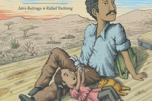 Two White Rabbits by Jairo Buitrago, illustrated by Rafael Yockteng, translated by Elisa Amado