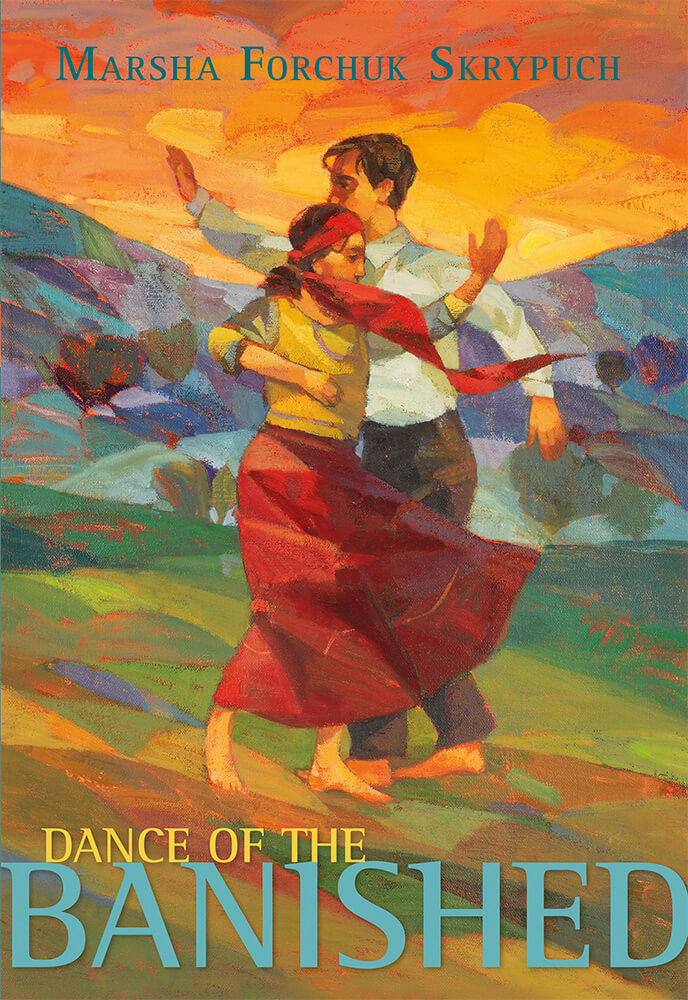 Cover of Dance of the Banished by Marsha Forchuk Skrypuch