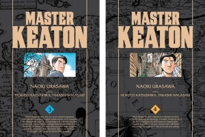 Master Keaton (vols. 3-4) by Naoki Urasawa, story by Hokusei Katsushika and Takashi Nagasaki, translated and adapted by John Werry