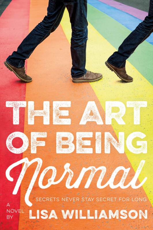 Art of Being Normal by Lisa Williamson on BookDragon via Shelf Awareness