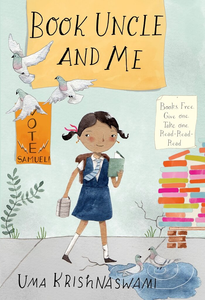 Book Uncle and Me by Uma Krishnaswami on BookDragon via Shelf Awareness
