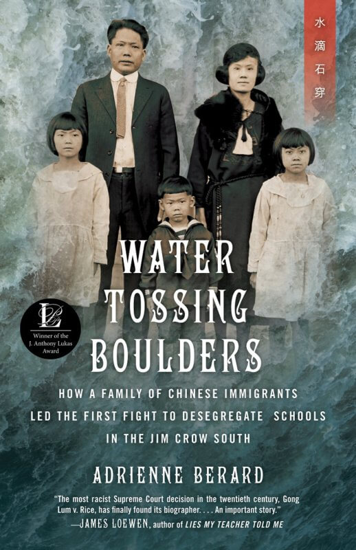 Water Tossing Boulders by Adrienne Berard on BookDragon via Booklist