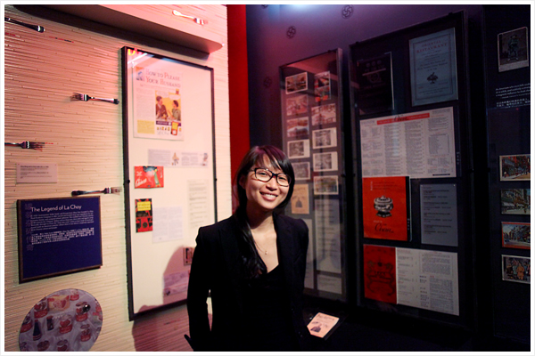 Ting-Chi Wang, exhibitions manager for the Museum of Chinese in America
