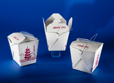 Chinese take-out boxes