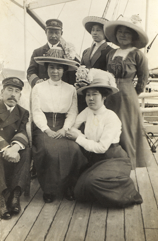 Picture Brides and Shimomura's Grandmother on the bottom-right.