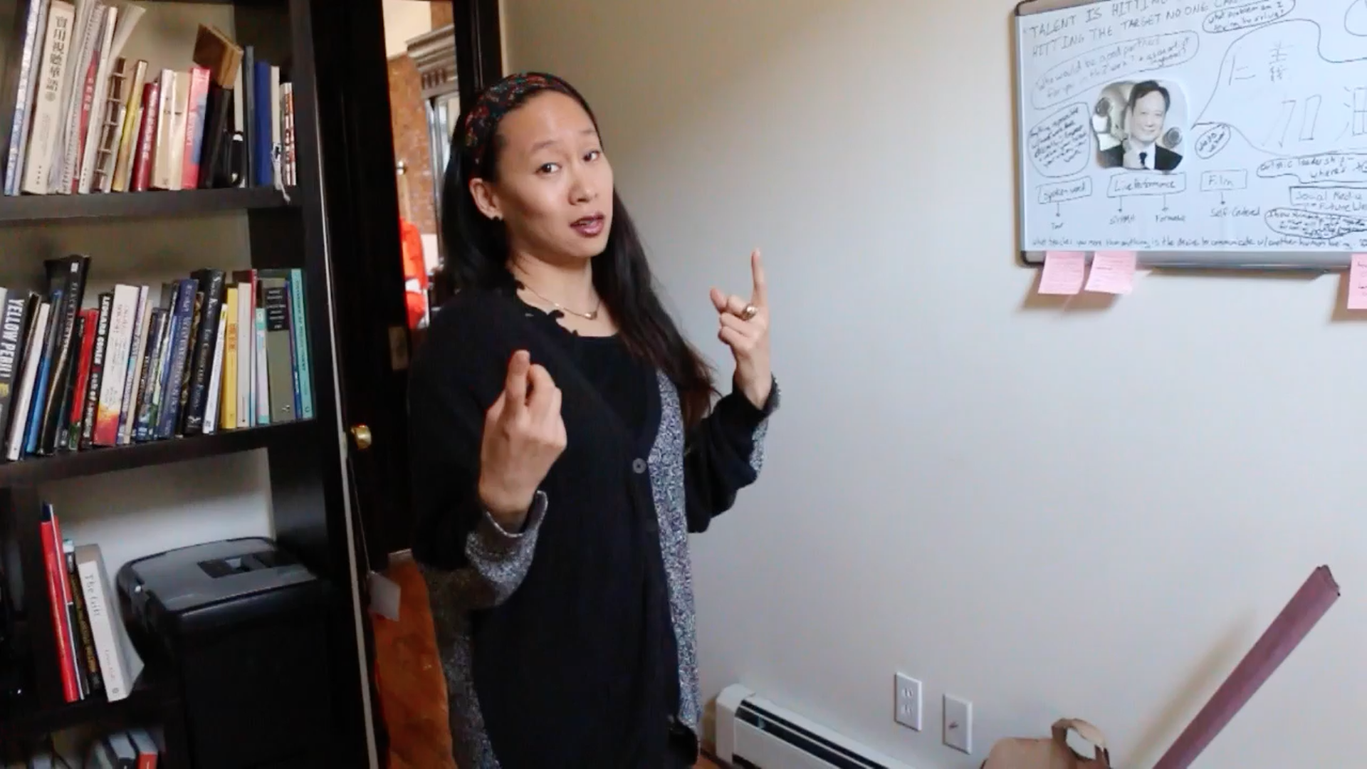 Kelly Tsai has used spoken word poetry to enter the realms of theater, fine art, film, dance and more.