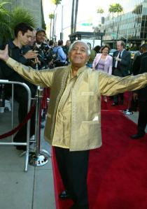 "Image: Kumar Pallana a.k.a. ""Mr. Pagoda"" at the premiere of Wes Anderson's The Royal Tenenbaums"