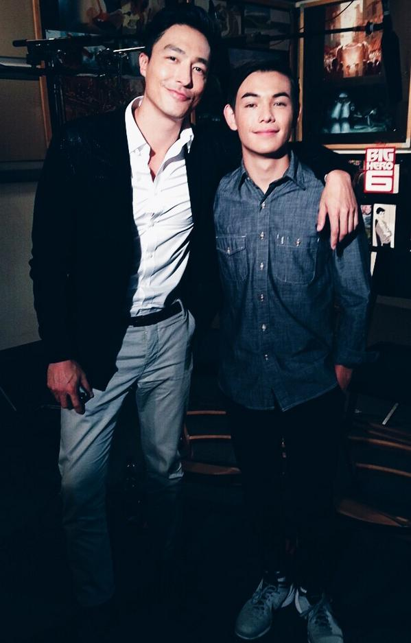 Daneil Henney (left) and Ryan Potter (right), co-stars of Big Hero 6. Source: sanfransokyo-bae.tumblr.com (yes, that's a real URL)