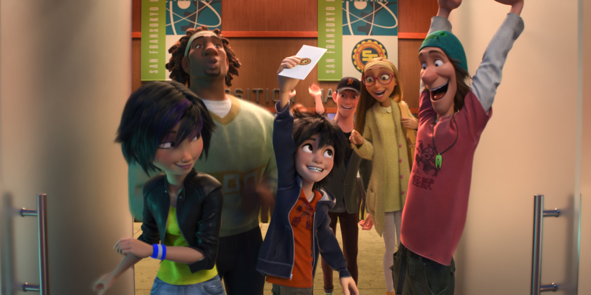 Big Hero 6 Cartoon Characters Names : Now big hero shows that an asian american cast can