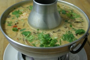 Tom Kha Goong Made with Sustainable Shrimp