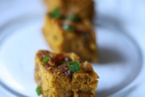 A New Take On A Dim Sum Favorite: Chinese-Style Savory Pumpkin Cake
