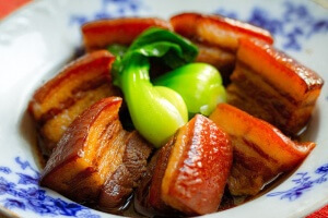"""The Food of Taiwan"" and Taiwanese Red-Braised Pork Belly (红烧肉) Recipe"