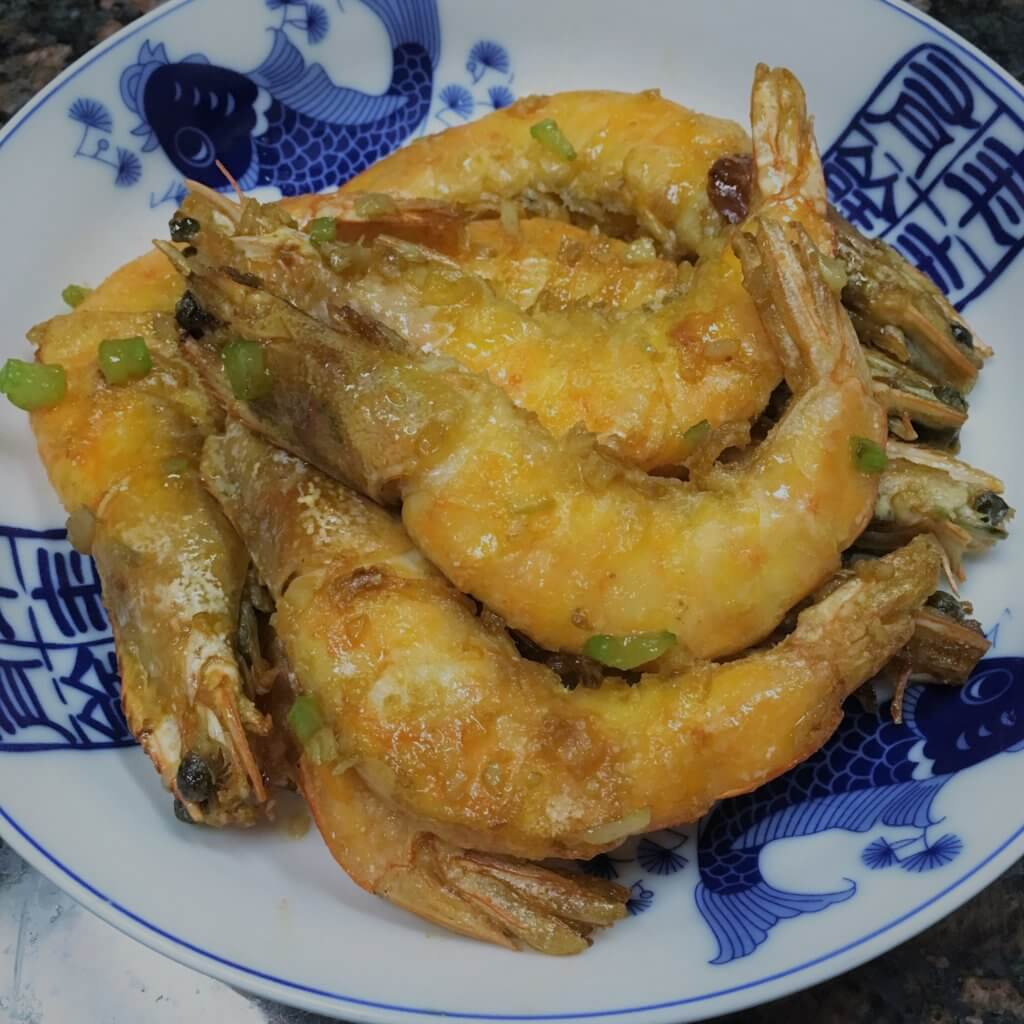 Chinese New Year Panfried Shrimp