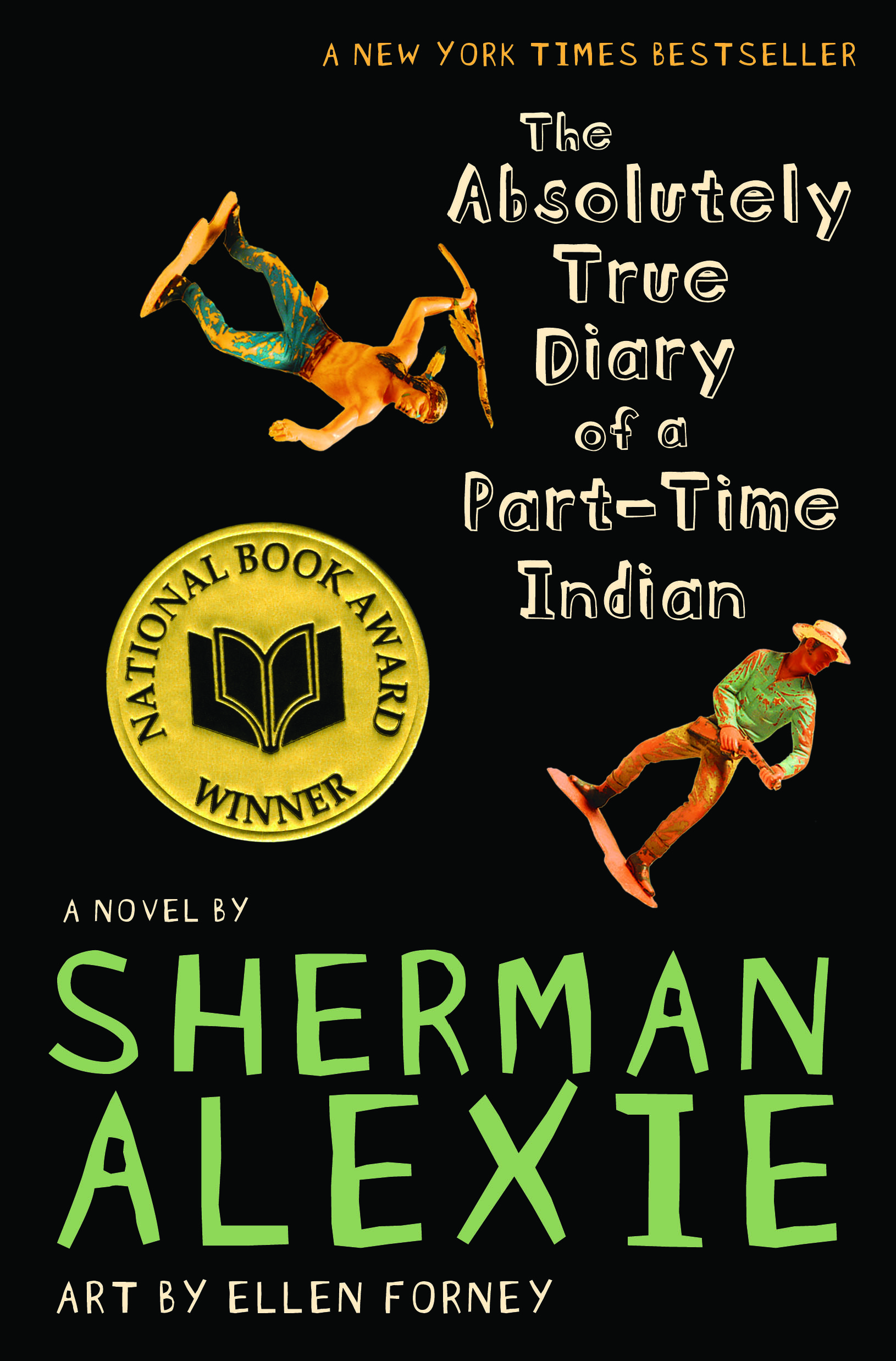 The Absolutely True Diary of a Part-Time Indian by Sherman Alexie, art by  Ellen Forney   BookDragon
