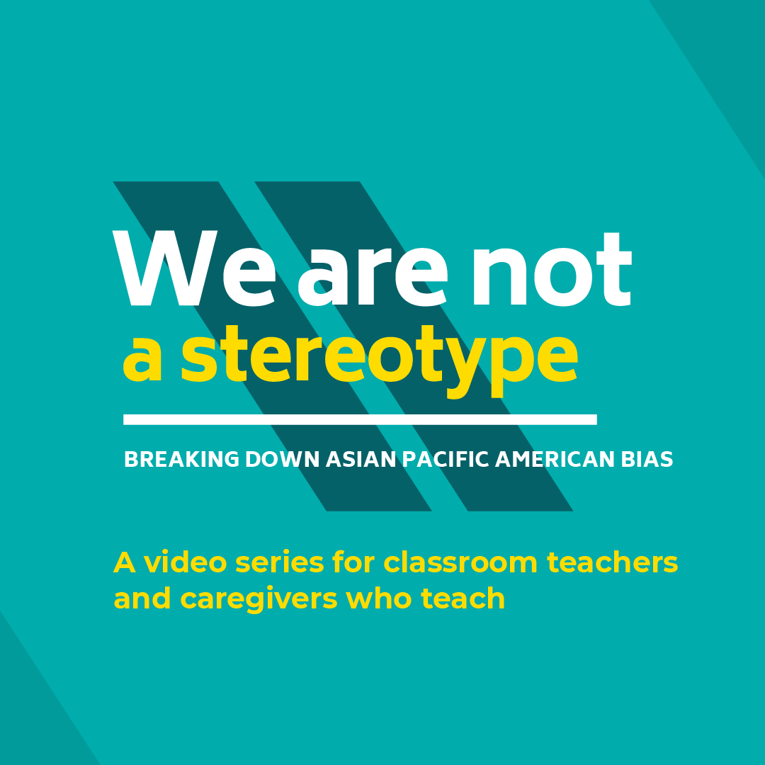 We are not a stereotype