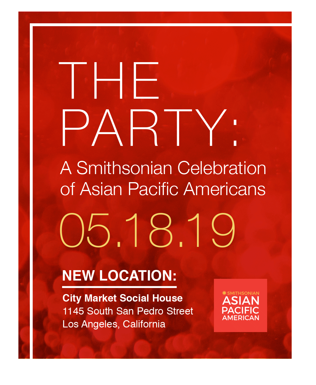 The Party | Smithsonian Asian Pacific American Center